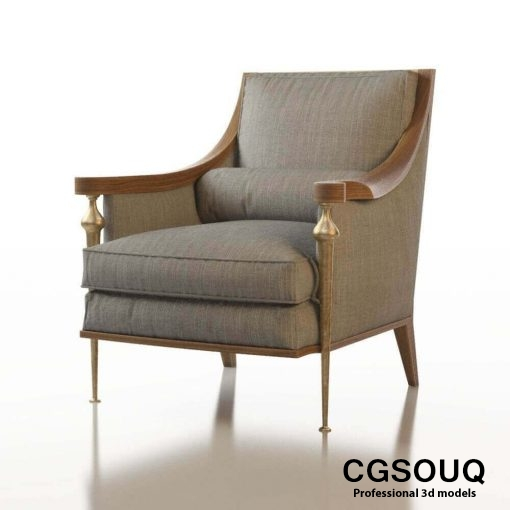 Contemporary Chair Pack - Set III 3D model 6