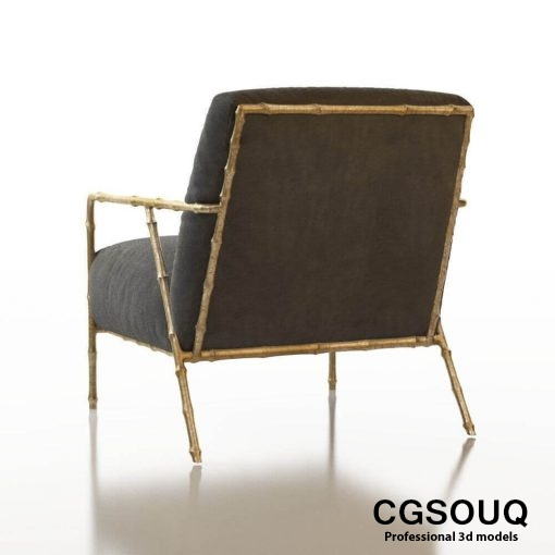 Contemporary Chair Pack - Set III 3D model 7