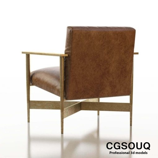 Contemporary Chair Pack - Set III 3D model 9