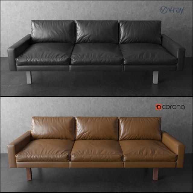 Contemporary Standard Felix Sofa 3D Model