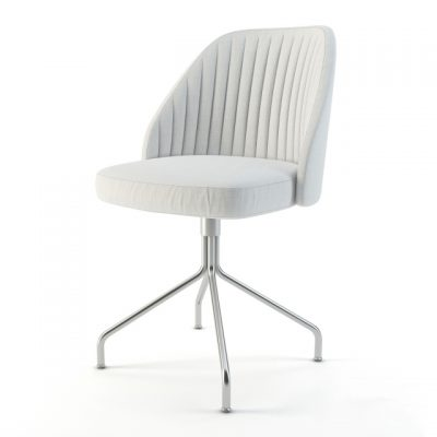 Conti Dining Chair 3D Model