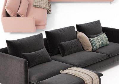 Sofas 3d Soderhamn Model Ikea Corner CtxdsQrh