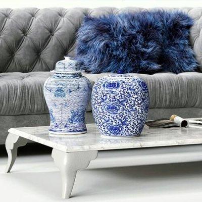 Corte Zari sofa 3D model 2