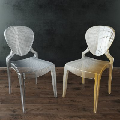 Cosmo Dystopia Chair 3D Model