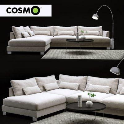 Cosmo Sofa Set-01 3D Model