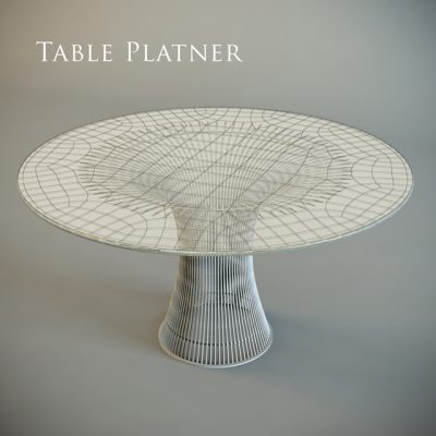 Cosmo Table Planter 3D Model