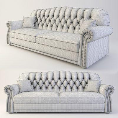 Costa Bella Royal Divani Sofa 3D Model
