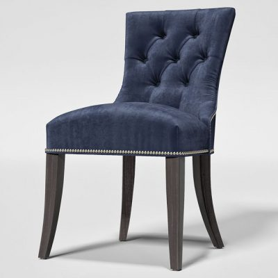 Crate & Barrel Cecelia Chair & Avalon Table – Table & Chair 3D Model