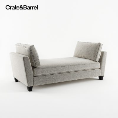 Crate&Barrel Simone Daybed 3D Model
