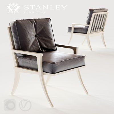 Crestaire Lena Accent Chair 3D Model