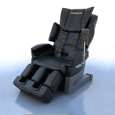 Cyber Relax EC-3700 Fujiiryoki Massage Chair 3D model