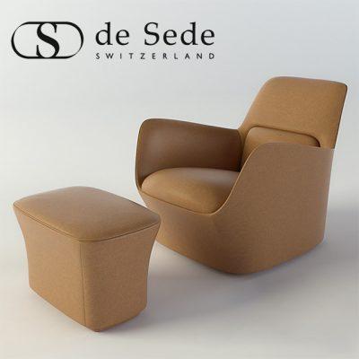 DS 110 Armchair 3D Model