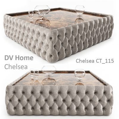 DV Home Chelsea CT-115 Coffee Table 3D Model