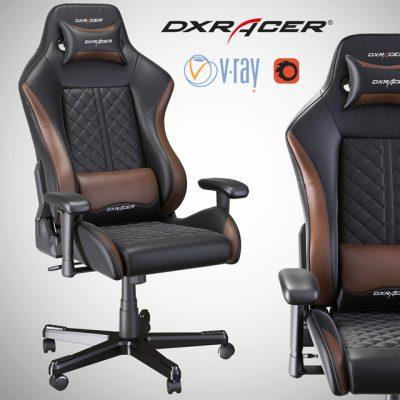 DXRacer Chair 3D Model