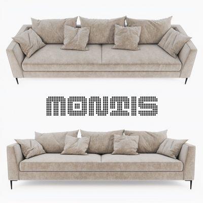 Daley Montis Sofa 3D Model