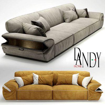 Dandy Limousine Sofa 3D Model