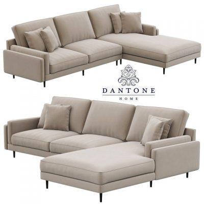 Dantone Home Portry Modular Sofa 3D Model
