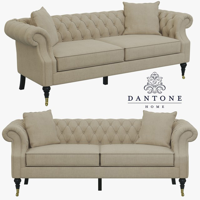 Dantone Home Zhiverni Sofa 3D Model