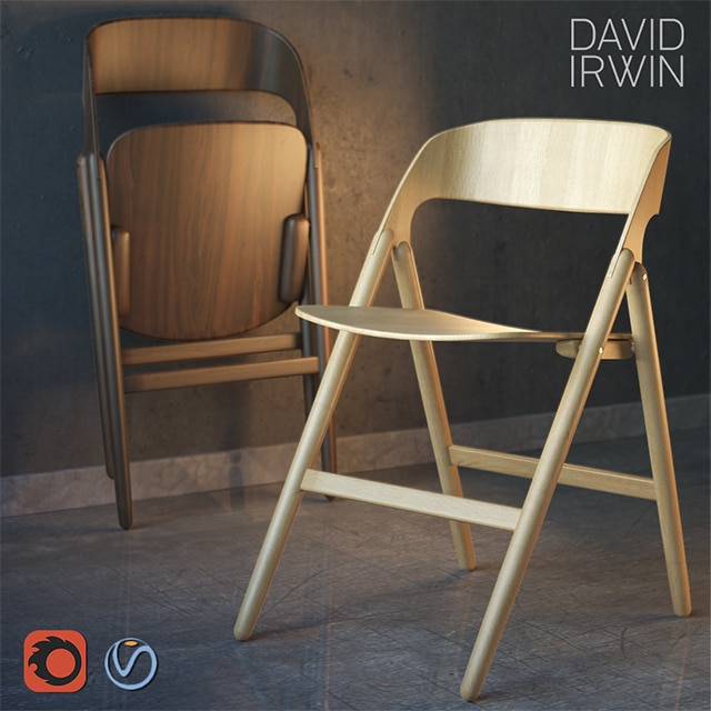 David Irwin - Narin Chair 3D Model