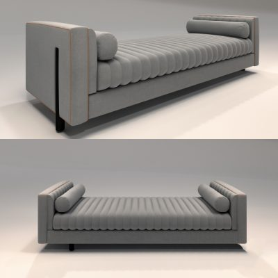 Daybed-88 3D Model