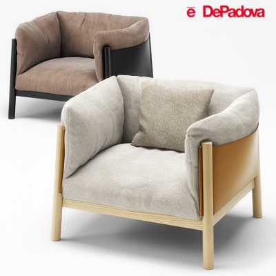 DePadova Yak Armchair 3D Model