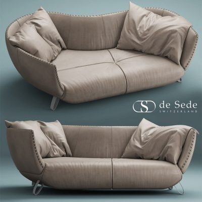 DeSeDe 102 Tivan Sofa 3D Model