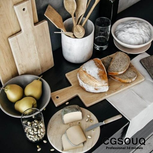 Decoration for kitchenware 3D model-3-CGSouq.com