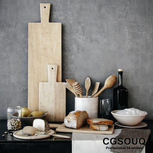Decoration for kitchenware 3D model-CGSouq.com