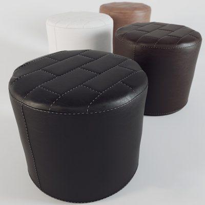 Decorative Brick Tie Poof 3D Model