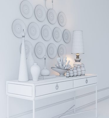 Decorative Set-07 3D Model