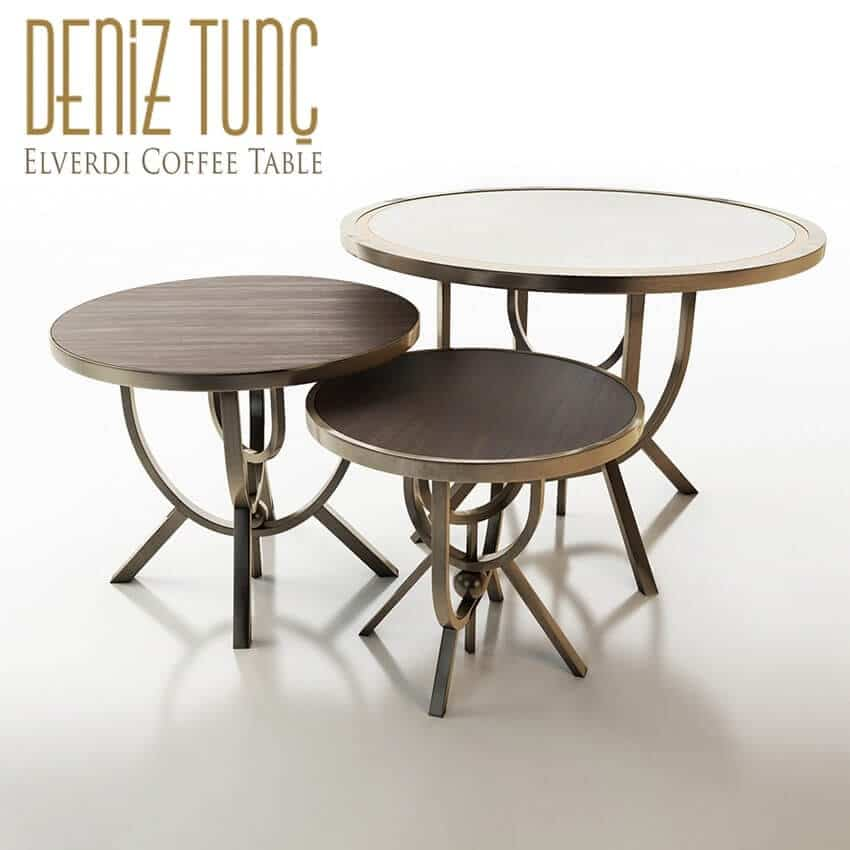 Deniz Tunc Elverdi Coffee Tables