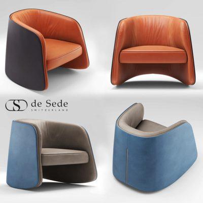 Desede DS-900 Chair 3D Model