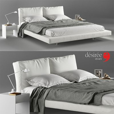 Desiree Ozium Bed 3D Model