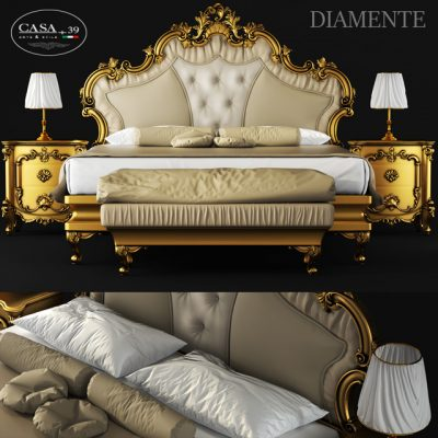 Diamante Casa 39 Bed 3D Model