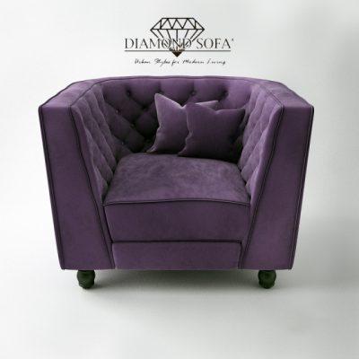 Diamond Sofa – Bellini Button Armchair 3D Model