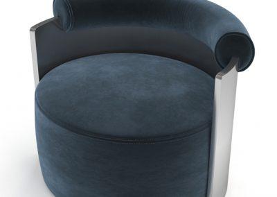 DimoreStudio Poltrona Armchair 3D Model 2