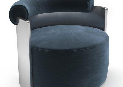 DimoreStudio Poltrona Armchair 3D Model 3