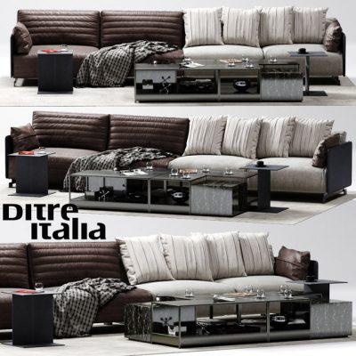 Ditre Italia Bag Sofa 3D Model