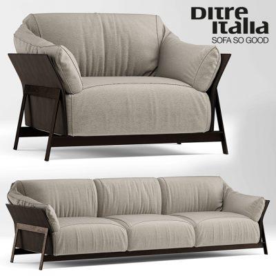 Ditre Italia – So Good Sofa 3D Model