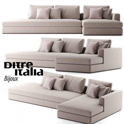 Ditre italia Bijoux Sofa 3D Model