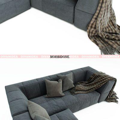 Divanidea Morbidone Sofa 3D Model