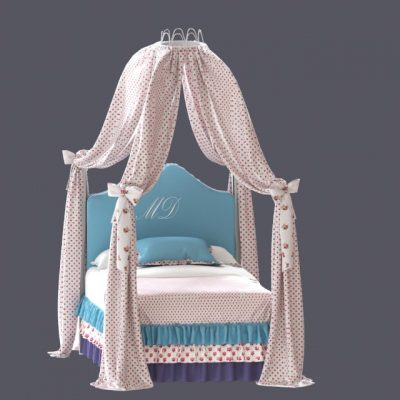 Dolfi Tiffany Bed 3D Model