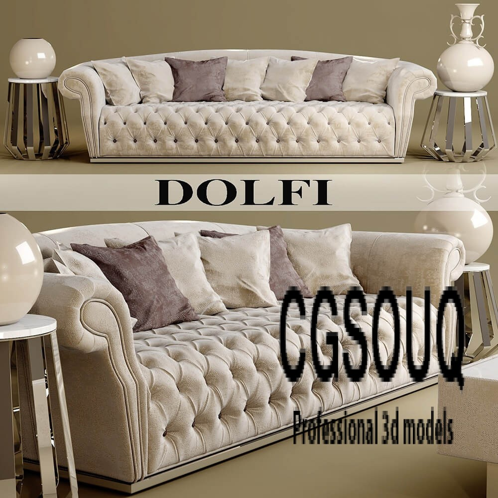 Dolfi sofa 3D model