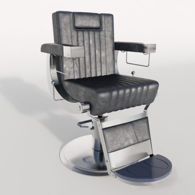 Dongpin Barber Chair 3D Model