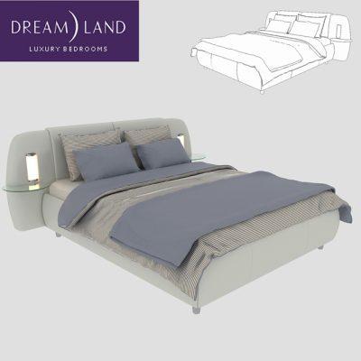 Dream Land Rio Grande Bed 3D Model
