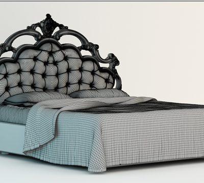 Dream Land Sardinia Bed 3D Model