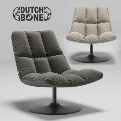 Dutch Bone Bar Lounge Chair 3D Model