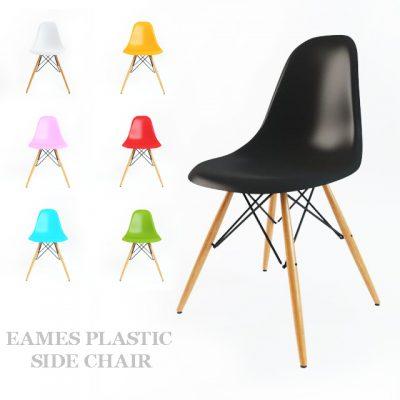 Eames Plastic Side Chair 3D Model