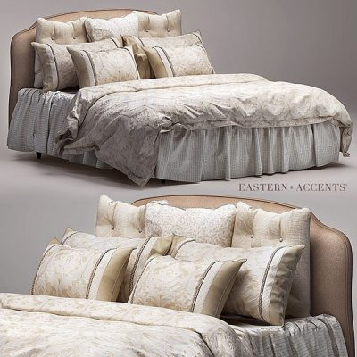Eastern Accents Bedding 3D Model