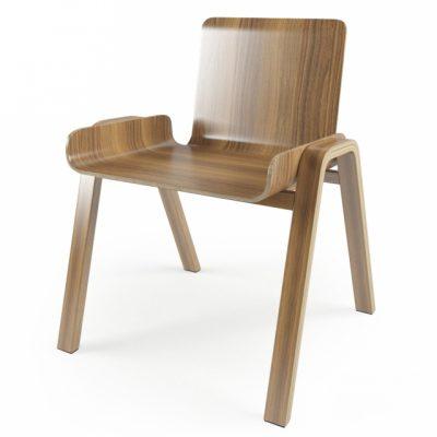 Economical Seungji Mun Chair 3D Model